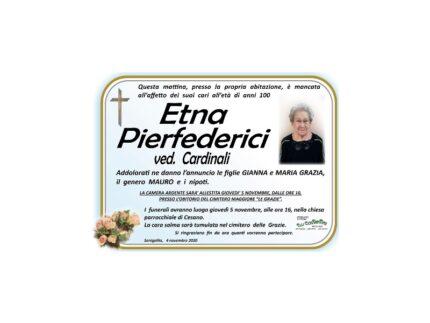 Etna Pierfederici Necrologio