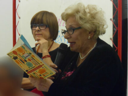 Simonetta Sagrati con Wilma Durpetti