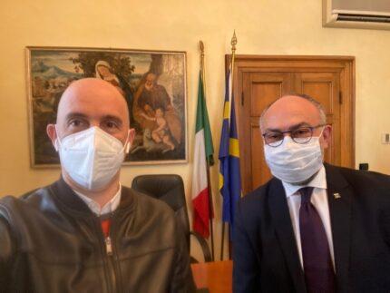 Ciro Maschio e Massimo Bello, presidenti dei consigli comunali di, rispettivamente, Verona e Senigallia