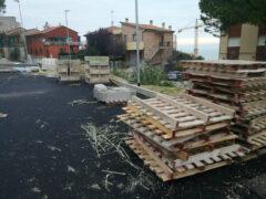 Parcheggio a Montignano