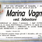 Marina Vagni Necrologio