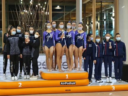Primo posto ai campionati nazionali per le atlete della ginnastica artistica APD Cesanella