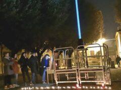 Commemorazione delle vittime della Lanterna Azzurra a Corinaldo