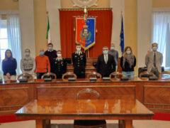 Carabinieri incontrano Giunta