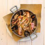 Un piatto del ristorante pizzeria Le Vele a Marotta di Mondolfo