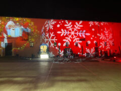 Luminarie natalizie nel centro storico