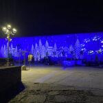 Piazza del Duca illuminata per Natale