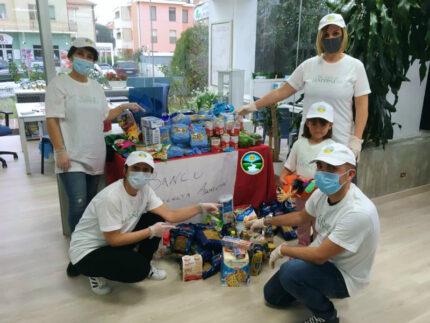 Il banco alimentare dei volontari