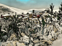 Arcevia con la neve