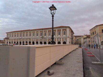 Nuovo ponte sul Misa in centro a Senigallia