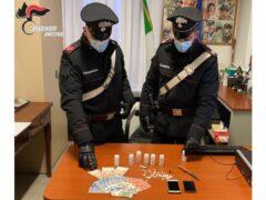 Materiale sequestrato dai Carabinieri di Senigallia