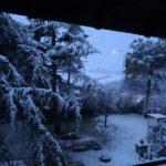 Neve a Monterado di Trecastelli - Foto Giancarlo Rossi