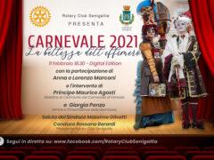 Locandina Carnevale 2021 del Rotary Club