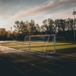 Campo da calcio, porta da calcio - photo by Pexels