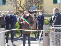 Inaugurazione parcheggio via Cellini