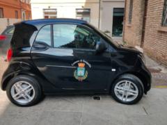 Nuovo veicolo elettrico del Comune di Senigallia