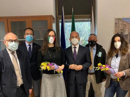 Delegazione Amministrazione Senigallia incontra Assessore regionale Castelli