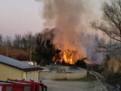 Incendio Cesano