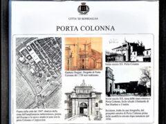 Pannello informativo Porta Colonna a Senigallia