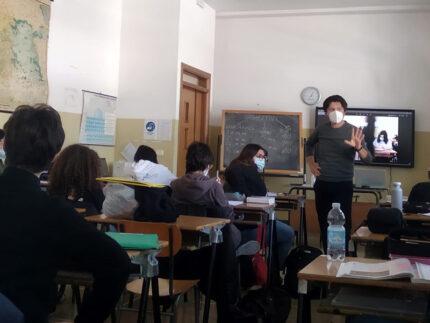 Il fotografo Lorenzo Cicconi Massi, al Liceo Perticari di Senigallia