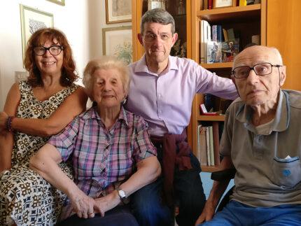Edda Baioni e Sandro Iacussi