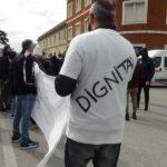 Manifestazione esercenti senigalliesi