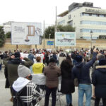 Manifestazione dei ristoratori e commercianti di Senigallia