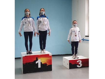 Le ginnaste della Cesanella alla prova individuale