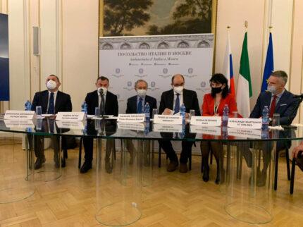 Una delegazione della Regione Marche in Russia