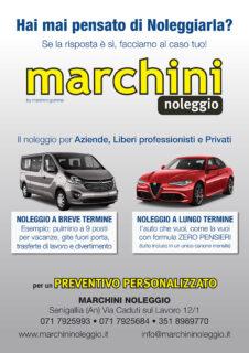 Marchini Noleggio Senigallia - volantino