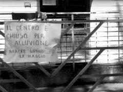 Reportage fotografico sull'alluvione, realizzato da Enzo Carli