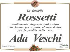 Ada Veschi, necrologio
