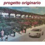 Parcheggio via Cellini - Progetto originario