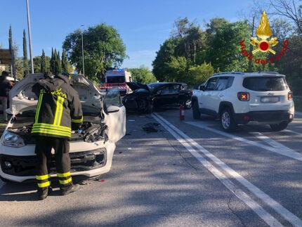 Incidente Stradale a Borgo Bicchia