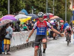 Trofeo Valmisa Packaging 2021 - L'arrivo di Sebastiano Fanelli