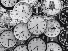 Fuso orario, orologi