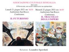 Due nuove conferenze del Salotto con Leandro Sperduti