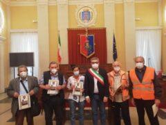 """Sindaco Olivetti con i """"Nonni Vigili"""""""