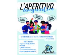 """Le Rondini Onlus organizzano """"L'Aperitivo linguistico"""""""