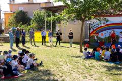 """Inaugurazione interventi realizzati nel giardino della Scuola """"Don A. Morganti"""" di Pianello di Ostra"""