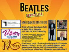 BeatleSenigallia in diretta radiofonica il 21 giugno 2021