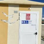 Disegni su bagni pubblici riviera di Levante