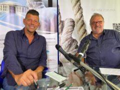 Maurizio Mangialardi e Massimo Mariselli
