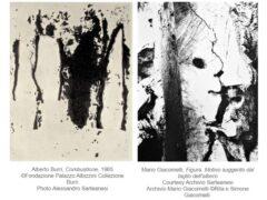 Giacomelli / Burri. Fotografia e immaginario materico