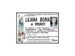 Necrologio Liliana Boria