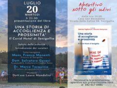 Presentazione del libro sul Covid Hotel di Senigallia