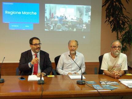 Moreno Cedroni e Giobbe Covatta in Regione