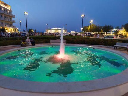 Fontana di Piazzale della Libertà a Senigallia