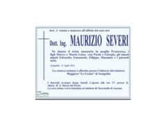 Necrologio Maurizio Severi