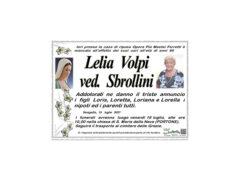 Necrologio di Lelia Volpi